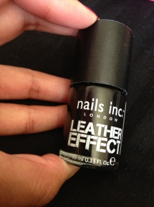 nails inc leather effect boho