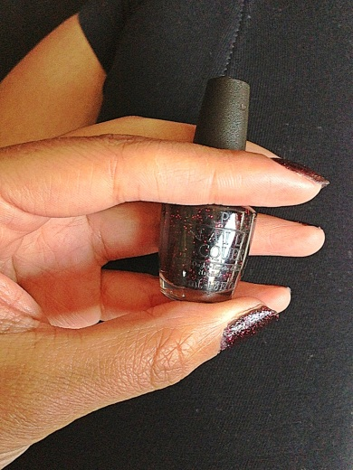 Stay the Night OPI nail lacquer