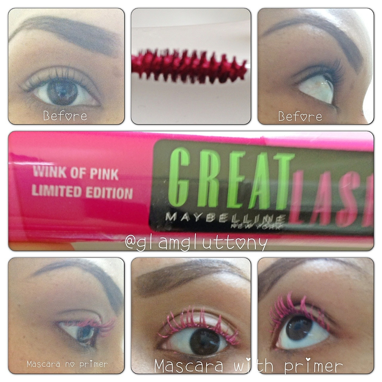 2c1e27521ee We love lashes Wednesday: Wink of Pink Maybelline Great Lash